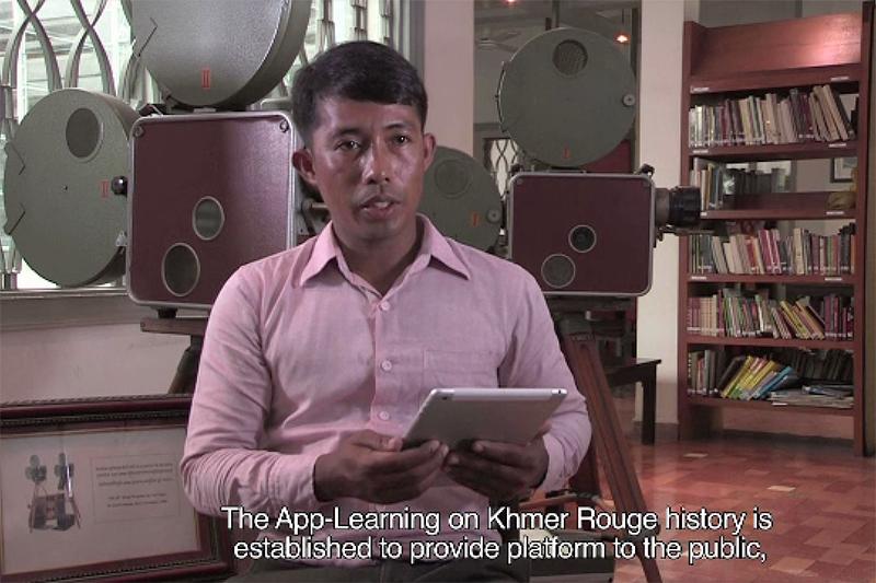 App on Khmer Rouge History